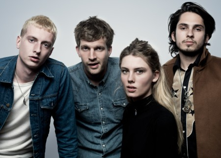 Wolf Alice performs at JBTV Music Television on May 4, 2015